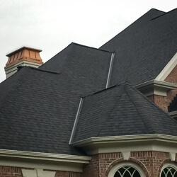 multi-pitch roof by Grace Roofing